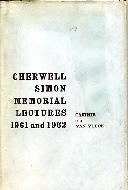 .The_Cherwell-Simon_memorial_lectures,1961_and_1962.