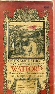 .Ordnance_Survey_Contoured_Road_Map_of_Watford.
