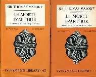 .Le_Morte_D'Arthur_in_two_volumes,_Everyman's_library_45_and_46.