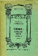 .CAESAR:_GALLIC_WAR_BOOK_V._Brodie's_classical_translations.