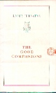 .Lyric_Theatre_Programme_._The_Good_Companions__1932.